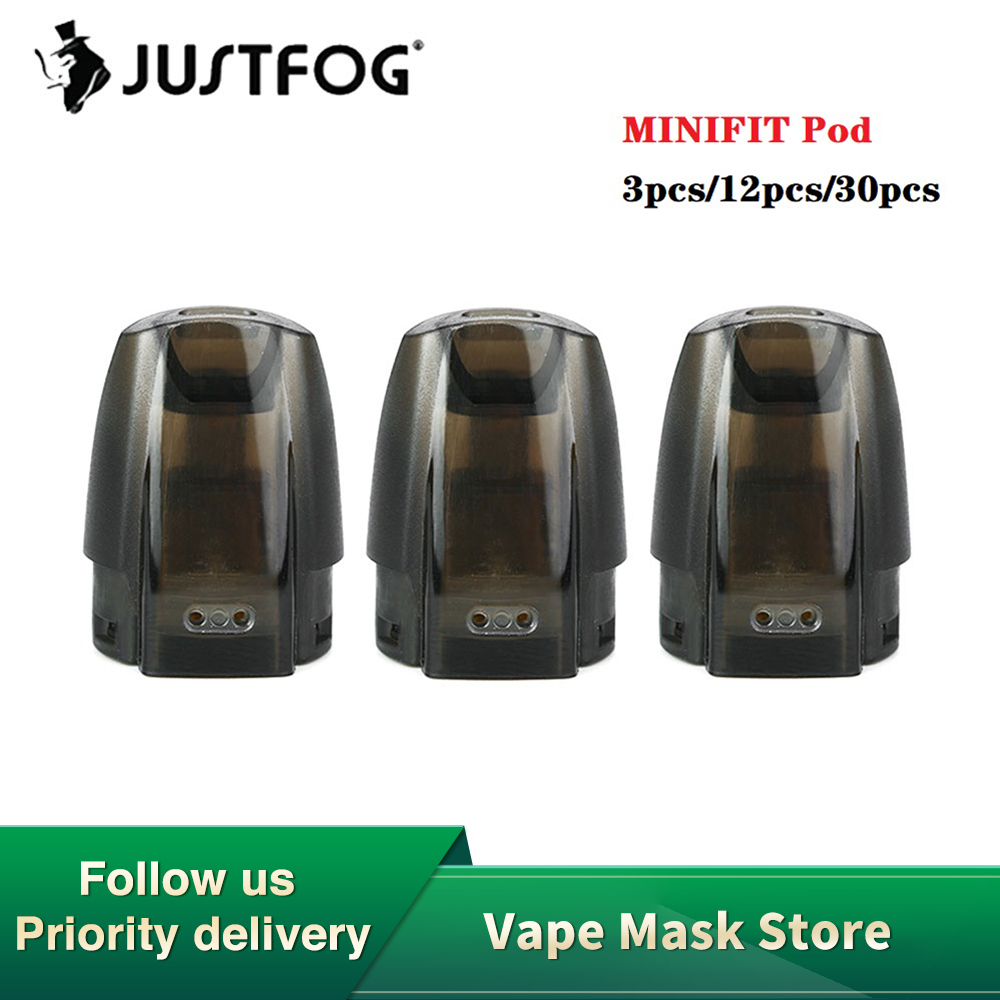 Hot Sale JUSTFOG MINIFIT Pod With 1.5ml Capacity & 1.6ohm Japanese Organic Cotton Coil & Safe Refilling Design Spare Vape Part