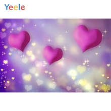 Yeele Wedding Party Photocall Bokeh Glitters Loves Photography Backdrops Personalized Photographic Backgrounds For Photo Studio