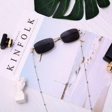 Eyeglass Reading Glasses Spectacles Eyewear Pearl Beaded Chain Cord Holder Female Far sight Ultra Light Classic Glass #45(China)