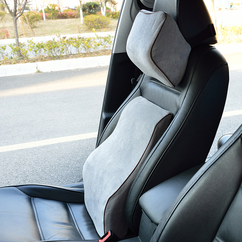 Hf564a88678dd4e1ab29f89ffbab24389a Car Seat Cushion Mat Coccyx Orthopedic Memory Foam Chair Massage Mat Back Cushion Pad Office Nap Therapy Callipygian Cushion