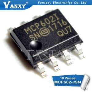 Image 2 - 10Pcs MCP602 Sop MCP602I Sop 8 MCP602 I/Sn SOP8