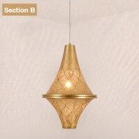 Hollowing process Energy saving E27 bulb lamp kitchen dining room coffee shop villa hanging lights| |   -