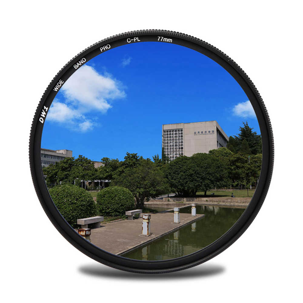 62mm Multicoated C-PL Circular Polarizer Multithreaded Glass Filter For Canon EOS 7D