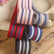 100yards 25mm 38mm braid stripes grosgrain ribbon for hair bow diy accessories hand craft supplies bouquet flower packing bow цена и фото