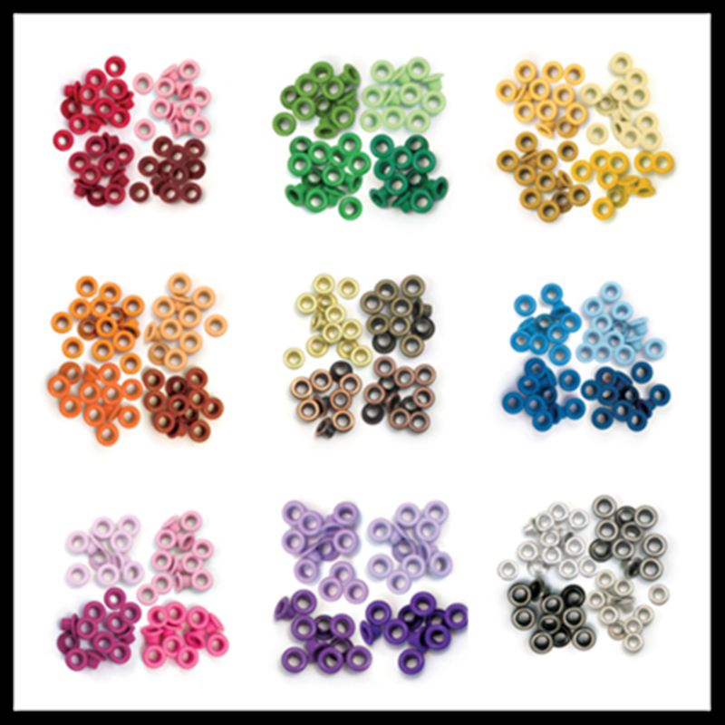 60 Pcs We R Memory Keepers 3/16 Inch 4.8mm Standard Eyelets  Embllishments Scrapbooking Accessories Scrapbook Gas Holes Punching