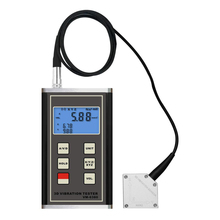 LANDTEK VM-6380 Professional  Vibration Meter Used for Measuring Periodic Motion Contact Tachometer and Photo Tachometer.