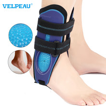 VELPEAU Ankle Support Brace Ankle Brace Stabilizer Stirrup Splint for Sprains Can be Worn in Shoe for Both Left and Right Feet