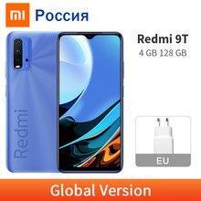 Original Xiaomi Redmi 9T 4GB 128GB versión Global Smartphone 48MP Quad 6000mAh Cámara Snapdragon 662 de 6,53