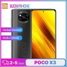 Globale Version Xiaomi POCO X3 Smartphone 6G 128G Snapdragon 732G Octa-Core 6,67 Inch Ultra Clear bildschirm 64MP Quad Kamera 5160mAh