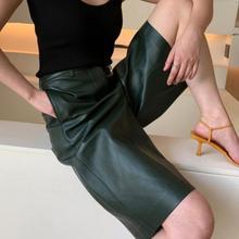 Кожаные шорты женская осенняя и зимняя одежда г. Новая верхняя одежда из PU искусственной кожи кожаные штаны Свободные тонкие свободные штаны Леггинсы