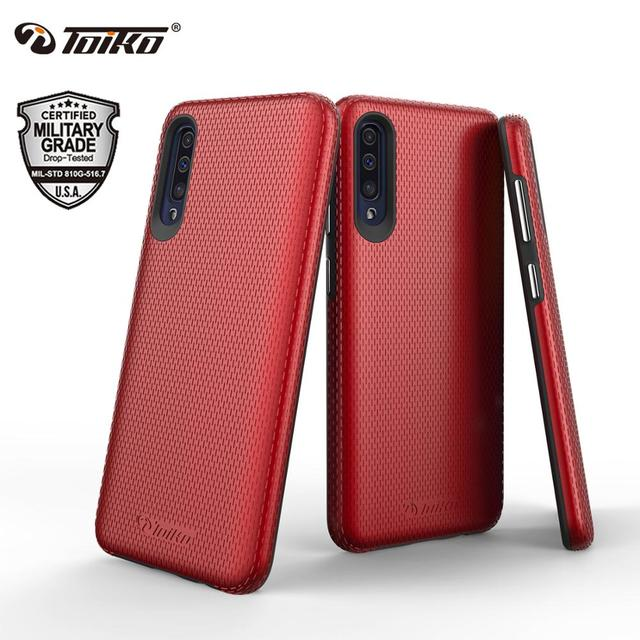 TOIKO X Guard 2 in 1 Shockproof Protection Cases for Samsung Galaxy A50 A30s A50s Phone Shell PC TPU Bumper Hybrid Back Covers