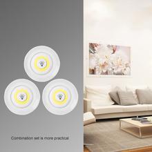 Światła podszawkowe LED z pilotem bezprzewodowe ściemnianie baterii COB LED szafy światła do szafy oświetlenie łazienki tanie tanio ABEDOE cabinet light Brak MOTION