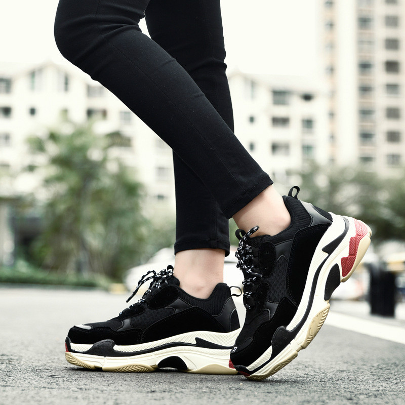 2019 New Women's Comb Shoes Fashion Students Wild Casual Sports Shoes Breathable Running Shoes Lovers Men And Women Shoes