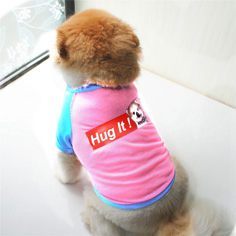 Summer Dog Clothes for Small Dog Clothing Pet Mesh Breathable Vest for Dogs Jacket Clothing for Chihuahua Pet Puppy Costume 10