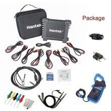 Hantek цифровой осциллоскоп мультиметр 1008C+ CC650+ HT307 USB 8-канальный осциллограф с иглоукалывание инструмент для ремонта