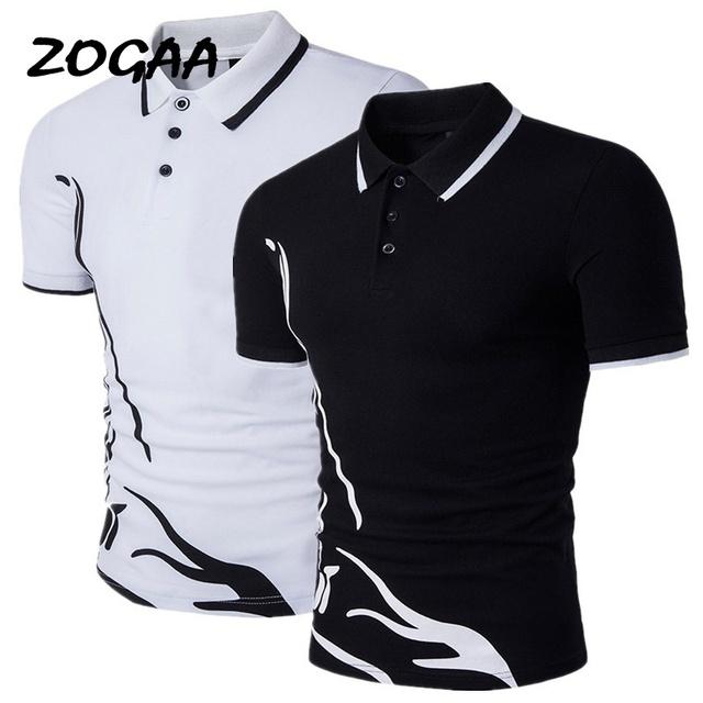 Men Polo Shirt Short Sleeve Summer