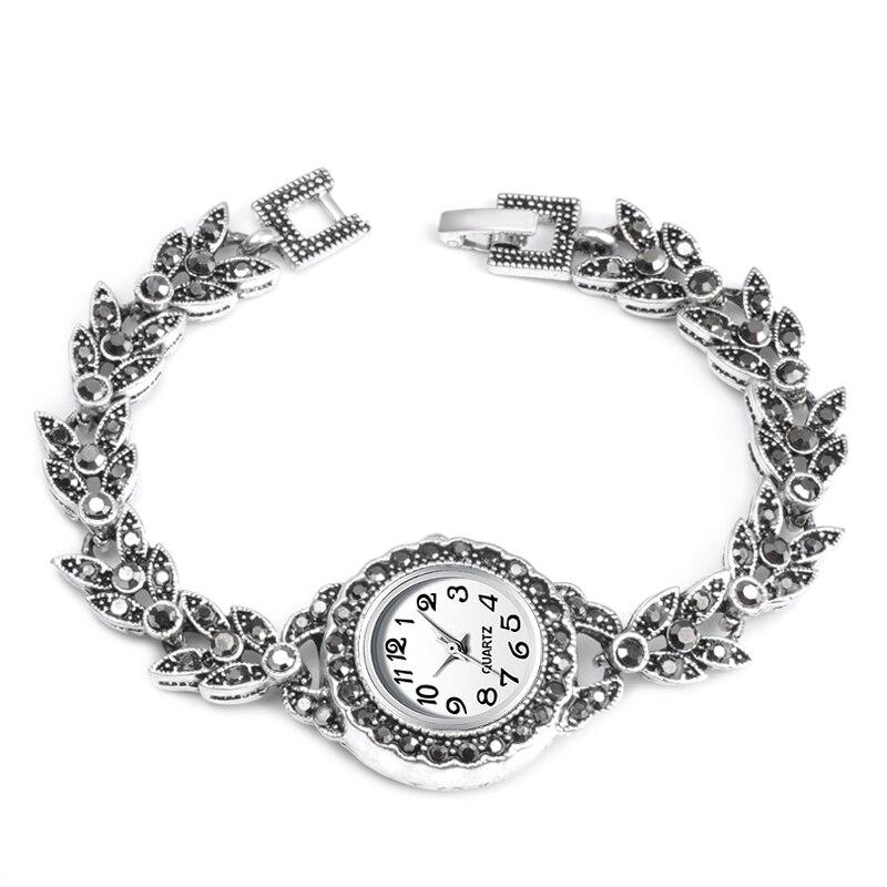 2019 New Hot Small Eye Charm Women Watch Bracelet Vintage Quartz Watch Women Look Covered Crystal Bracelet Gifts Turkish Jewelry