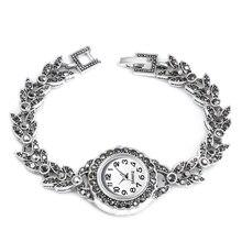2019 New Hot Small Eye Charm Women Watch Bracelet Vintage Quartz Watch