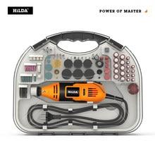 HILDA – Mini perceuse électrique, broyeur Dremel, stylo à graver, Mini perceuse, outil rotatif électrique, rectifieuse, accessoires Dremel