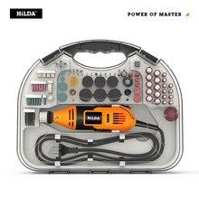 HILDA Mini perceuse graveuse Dremel, stylo graver, Mini perceuse outil rotatif électrique, rectifieuse, accessoires Dremel