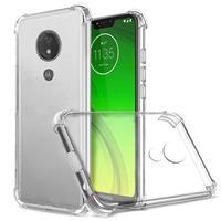 Caso del TPU para Motorola MOTO E7 más G9 jugar una acción G8 de G7 P30 nota Z3 jugar funda de silicona suave funda transparente para teléfono móvil