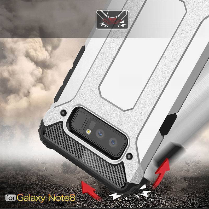 Strong Hybrid Tough Shockproof Armor Phone Case For SAMSUNG Note 8 S9 S8 Plus S7 6 Edge+ A3 A5 A7 2016 2017 Rugged Cover image