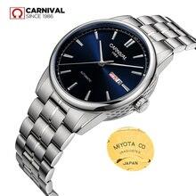 MIYOTA2020-relojes mecánicos para hombre, automático, de marca de lujo, para carnaval, dorado, militar, zafiro, deportivo, resistente al agua