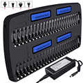 48 slots multi charger aa aaa smart fast chargers for 1.2V aa aaa ni mh battery