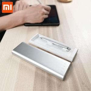 Image 4 - חדש Xiaomi Mijia Miiiw קלמר משרד תלמיד עיפרון מקרי ציוד לבית ספר עט תיבת אלומיניום סגסוגת ABS + PC עבור אפל עיפרון 2