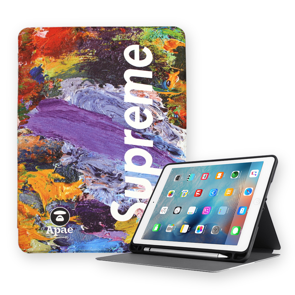 Cover for iPad 5/6th generation 9.7 inch Air 1 Air 2 Kids Shockproof of case for iPad Mini 5 10.2 inch Air 3 with pen slot
