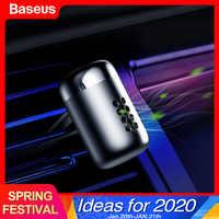 Baseus mini aromaterapia carro ambientador fragrância para carro difusor de ventilação de ar purificador de ar sólido cheiro parfum perfume auto aroma