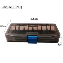 5 Grid Fishing Bait Box Double Sided Plastic Tackle Hook Soft Insect Storage Carp Fly Accessories
