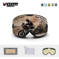 Óculos de proteção da motocicleta corrida revo anti nevoeiro mx downhill montanha neve óculos de proteção motocorss cascos gafas óculos de esqui|Óculos p/ moto| |  -