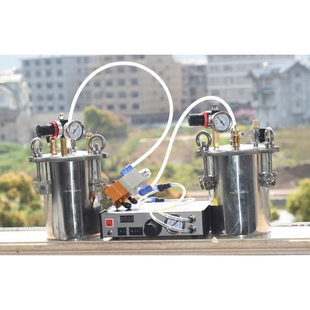 AB Bicomponent Machine automatikus adagoló rozsdamentes acél - Elektromos kéziszerszámok - Fénykép 5