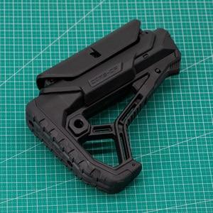 Image 5 - Stock táctico de Nylon extendido ajustable para pistolas de aire CS Paintball deportivo Airsoft BD556 M4 JinMing Gel, caja de engranajes receptor de bláster