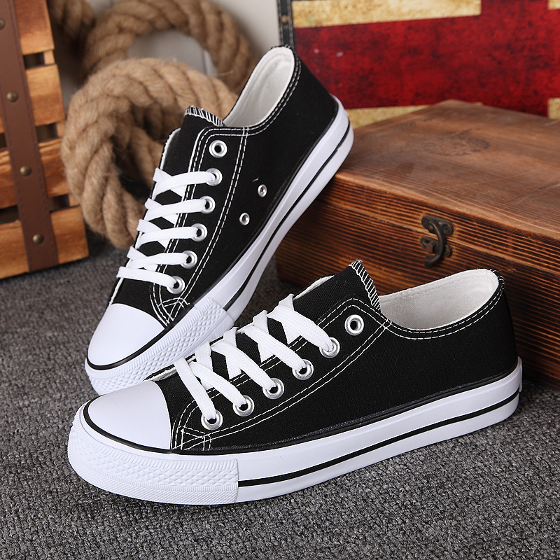 Unisex Authentic Classic Canvas Shoes High Low Top Vulcanize Athletic Sneakers Women Men Round Toe Casual Shoes