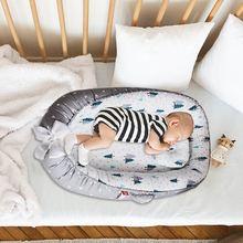 Мягкая детская кроватка для новорожденных с защитой от давления