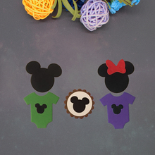 Mickey new Metal Cutting Dies New Stencils for DIY Scrapbooking Paper Cards Craft Making Decoration
