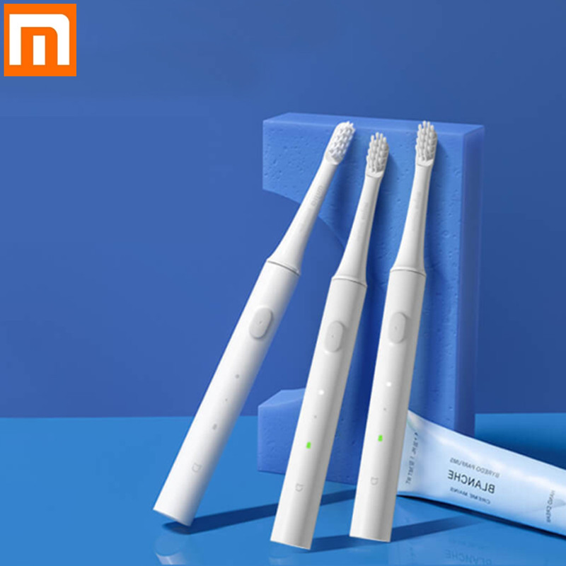 Xiaomi Mijia T100 Mi Smart Electric Toothbrush 46g 2 Speed Xiaomi Sonic Toothbrush Whitening Healthy Oral Care