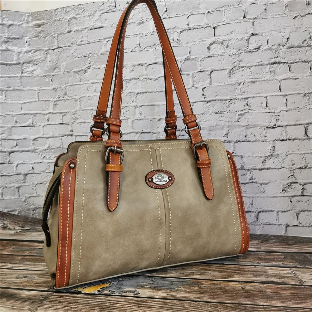Luxus Marke Handtasche Designer frauen Leder Shopper Tasche Vintage Handtaschen für Damen Tote Schulter Taschen 2020 Hohe Qualität Geldbörse