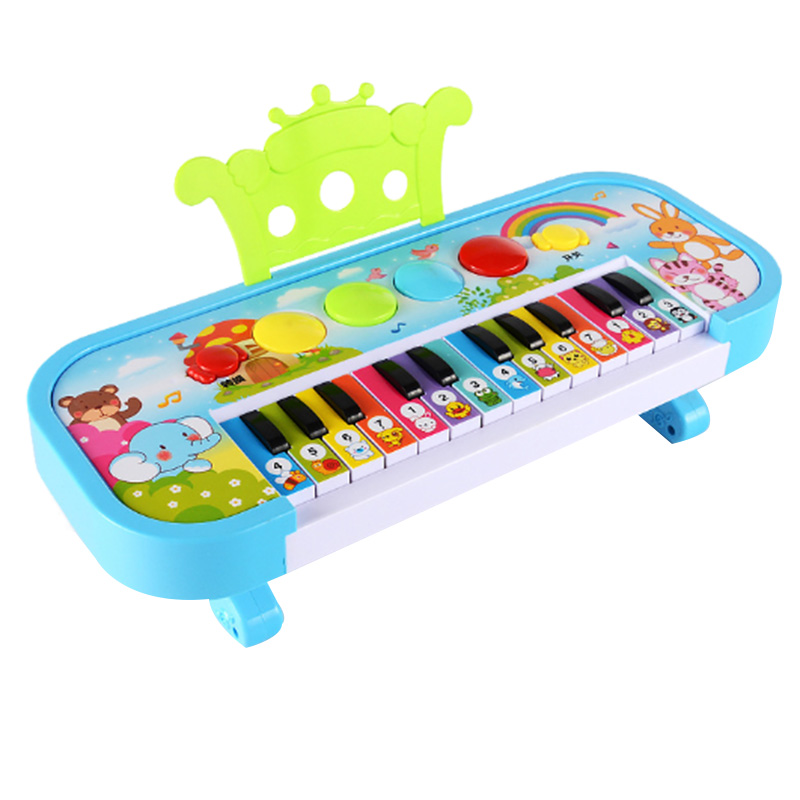 Infant Playing Educational Electronic Piano Baby Toys Children Keyboard Boys Girls Fingers Kids Music Gift(Random Color)