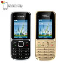 Перепрошитый Nokia C2-01 мобильный телефон 3.2MP, 3G, с функцией Поддержка Русский Иврит арабская клавиатура отремонтированные мобильные телефоны