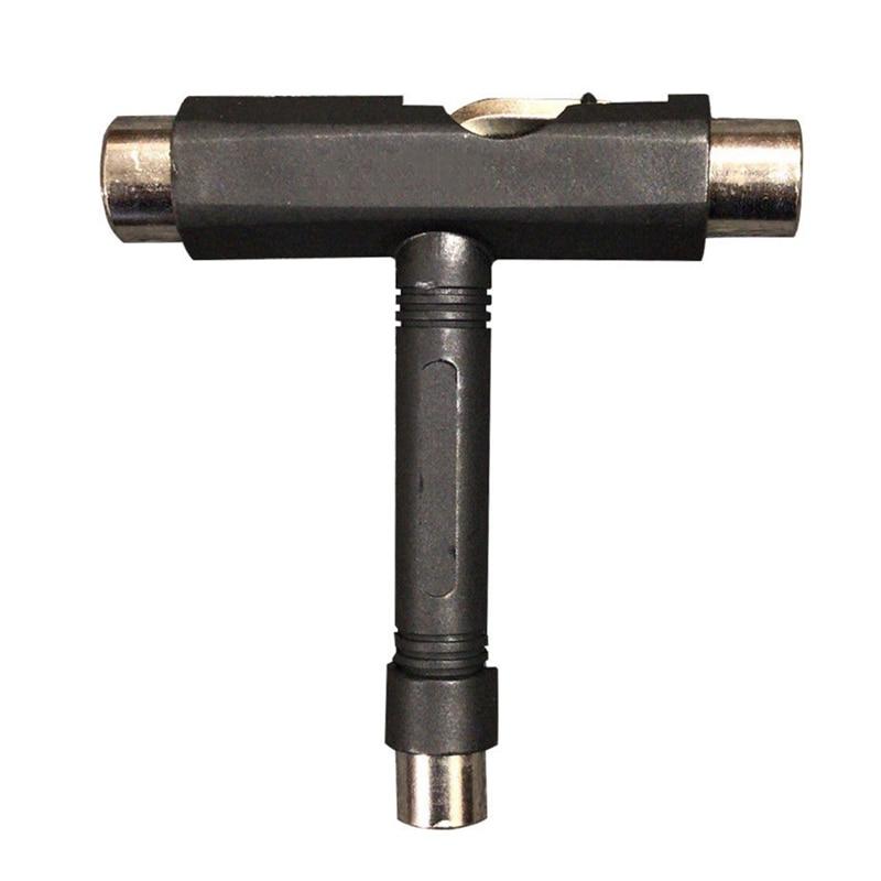 Купить с кэшбэком T-type Skate Tool All-in-one Screwdriver Socket Multi-functional Skateboard Tool Adjusting T-tool For Skateboard