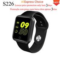 Förderung Neue Update S226 Smartwatch PK Iwo 8 9 10 W34 Bluetooth Smartwatch Wasserdicht Herz Rate Blutdruck IOS Android-in Smart Watches aus Verbraucherelektronik bei