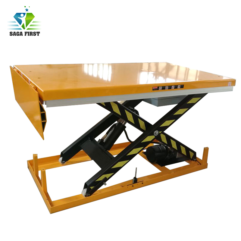 Electric Hydraulic Scissor Lift Material Lift Table