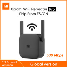 Xiaomi Mijia — Amplificateur Pro Routeur 300m 2,4 G, répéteur de réseau sans fil Mi WiFi 2, antenne maison, version mondiale,