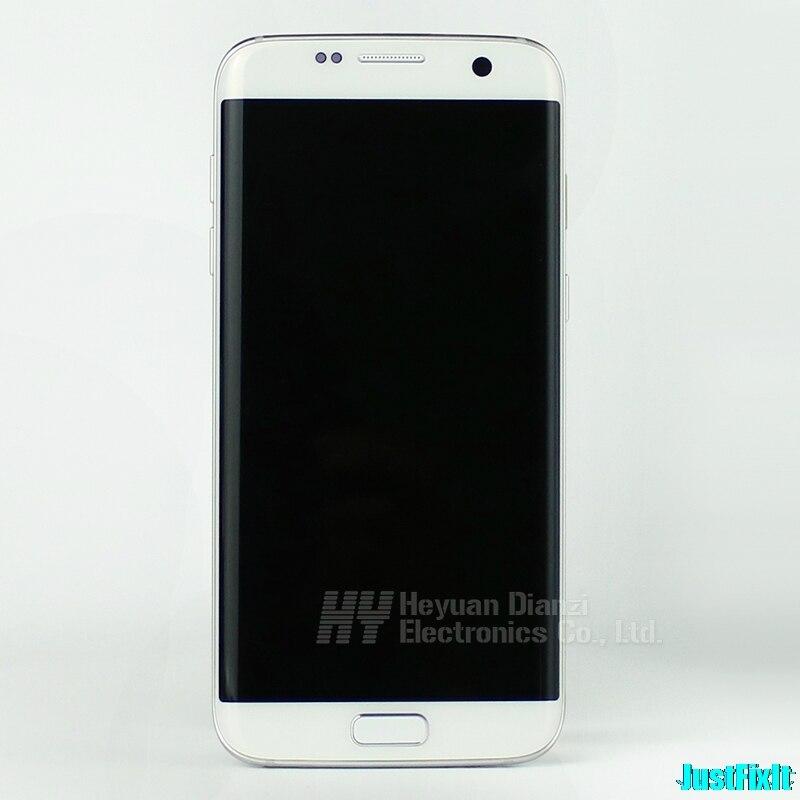 Pour Samsung S7 Edge G935A G935P G935V Original avec cadre écran Lcd avec écran tactile numériseur 5.5 ''Super AMOLED-in Écrans LCD téléphone portable from Téléphones portables et télécommunications on AliExpress - 11.11_Double 11_Singles' Day 1