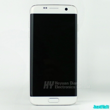 Samsung S7 kenar G935A G935P G935V orijinal çerçeve ile Lcd ekran dokunmatik ekran Digitizer ile 5.5 süper AMOLED
