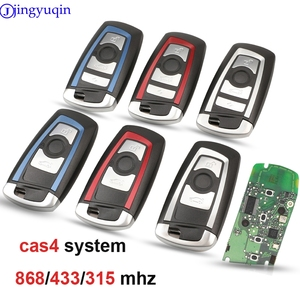 jingyuqin CAS4 868/315/433mhz Car Remote Smart Key For BMW 1 3 5 7 Series CAS4 System Auto Vehichle Alarm Keyless Fob(China)