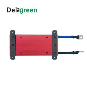 Image 2 - Deligreen 15S 100A 150A 200A 48В BMS для аккумуляторной батареи LiFePO4, защитная плата 18650 для sccoter ebike